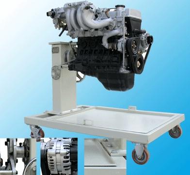 柴油发动机附拆装架