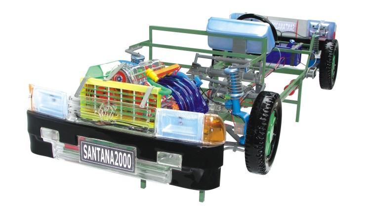 桑塔纳2000型整车教学模型