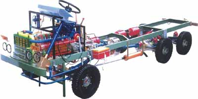 越野车、柴油车整台汽车教学模型