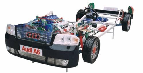 奥迪A6轿车透明整车模型