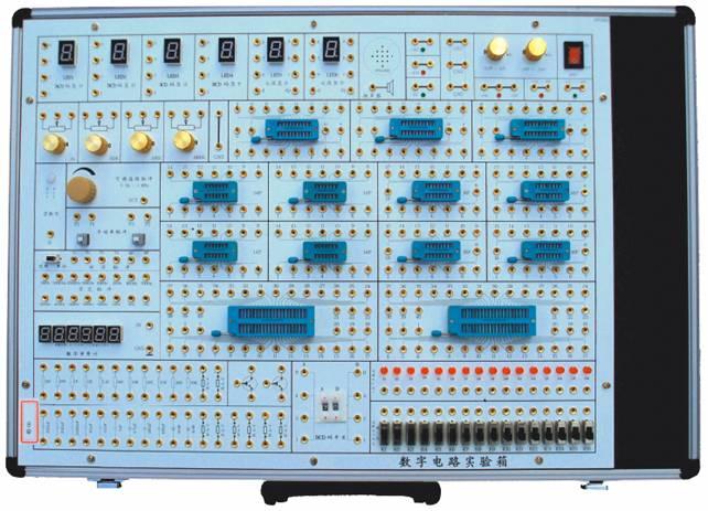 实验箱中的实验电路采用单元电路方式设计,单元电路即基本实验电路,再外接其他元件为该电路参数,或与其他的单元电路组合,完成不同的实验要求。每个实验的电路原理图都印刷在实验板表面,学生可按照各个实验的原理图自已搭建电路, 既培养了学生的独立思维能力及动手能力,也增强了该实验箱的适用性、扩展性。大部分元器件安装在实验板正面,增加了学生的感性认识;采用锁紧式镀金插孔将实验连线引出,连接可靠,维修方便、简捷;实验箱由一体型铅合金型材制成, 箱体牢固可靠,不变形,重量轻,绝缘安全性能好,开关箱盖方便可靠,外型美观,造