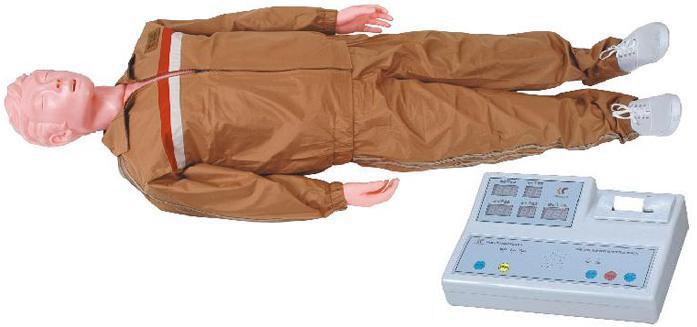 CPR4型 高级全自动电脑心肺复苏模拟人