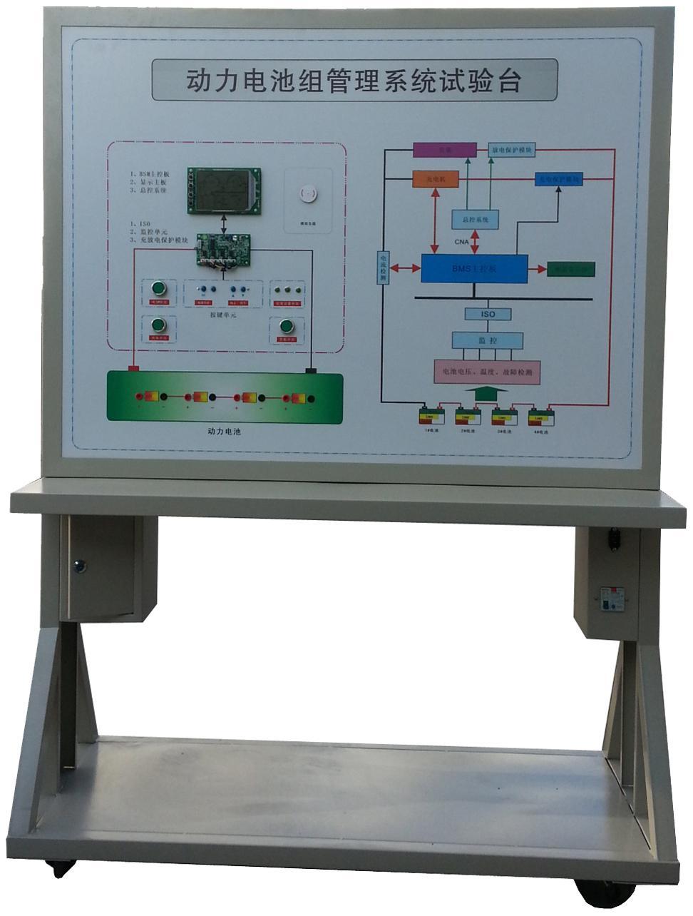 磷酸铁锂动力电池管理系统BMS实验台