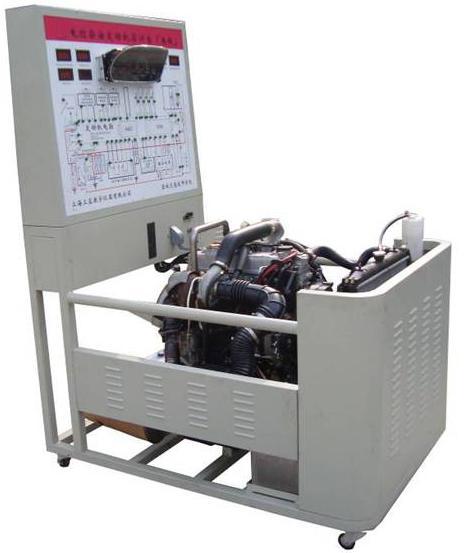 帕萨特b5发动机实训台结构组成        发动机总成,原车发动机控制