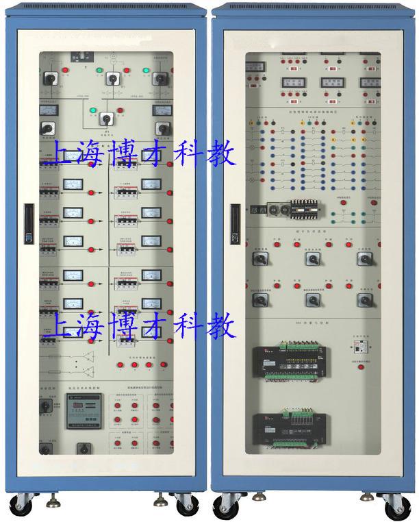本实训装置能配合智能建筑楼宇供配电系统有关课程,进行有关供