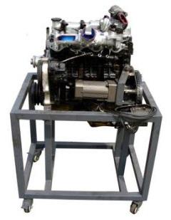 电控柴油发动机解剖实训台